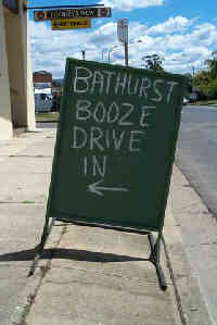 The Bathurst Booze Drive In